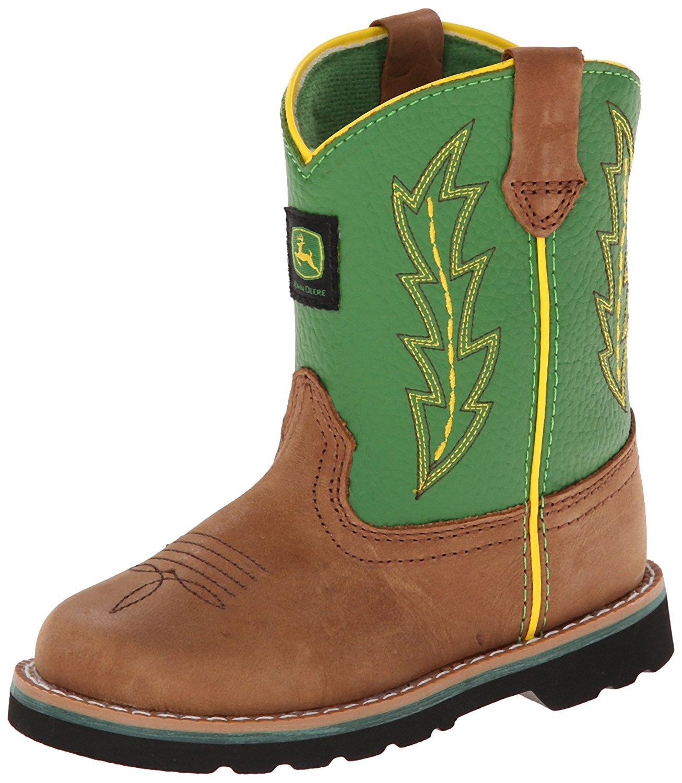 john deere boots amazon.com | john deere 1186 western boot (toddler) | boots nsvhamc