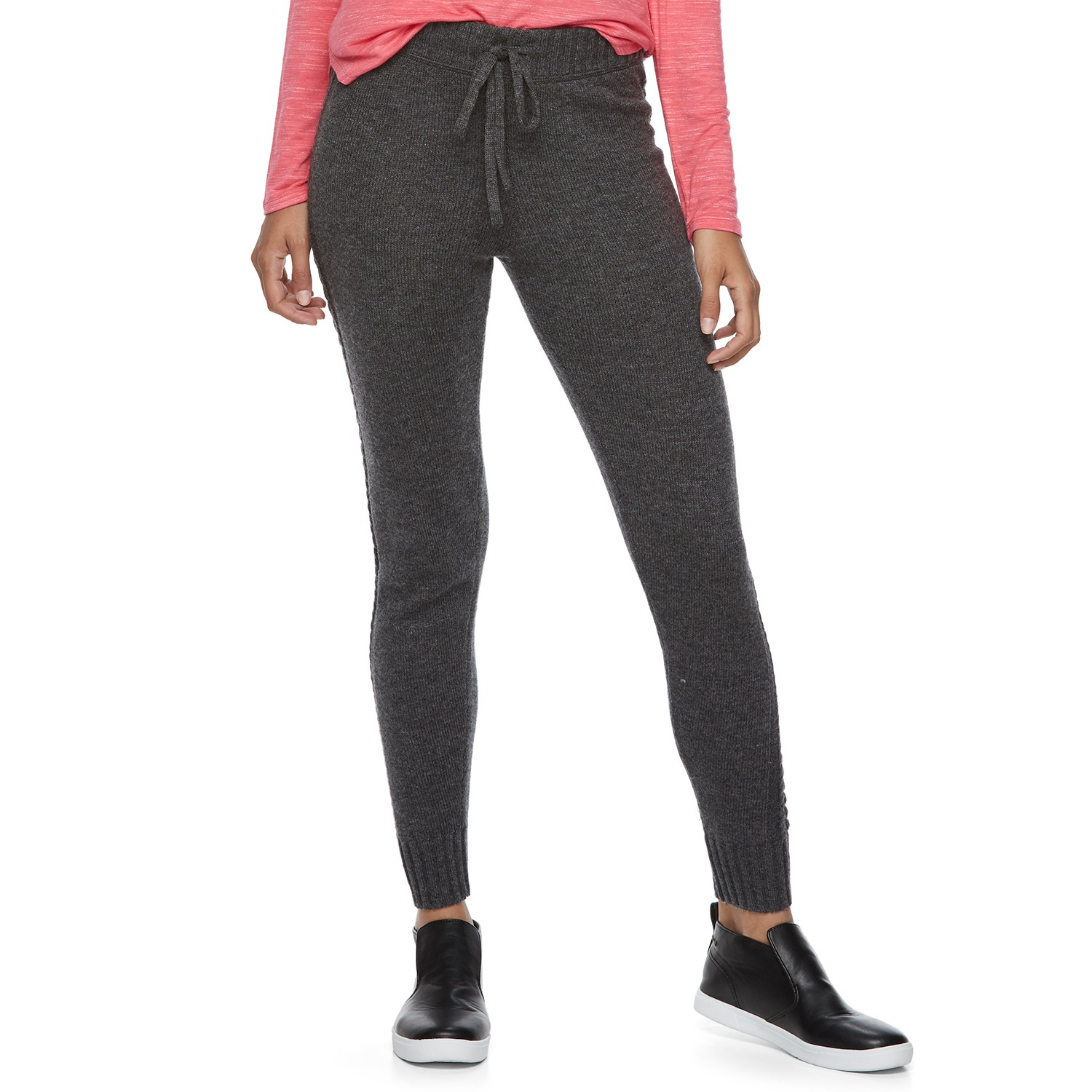 juniorsu0027 so® drawstring sweater leggings efwnwkx