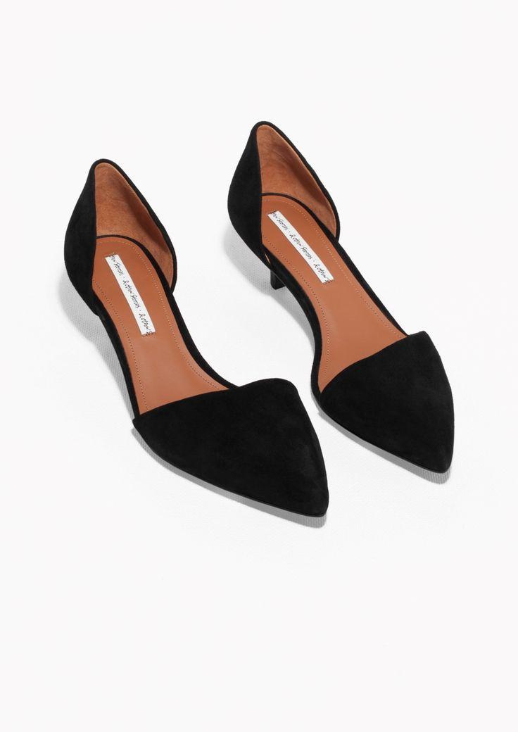 kitten heels other stories | kitten heel suede pumps lalbuyp