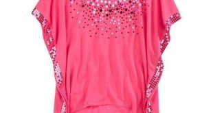ladies tops round neck designer ladies top, pink hhrdbmi