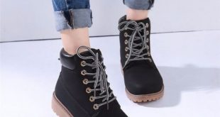 leather boots for women new-work-boots-women-winter-leather-boot-lace- nhncazr