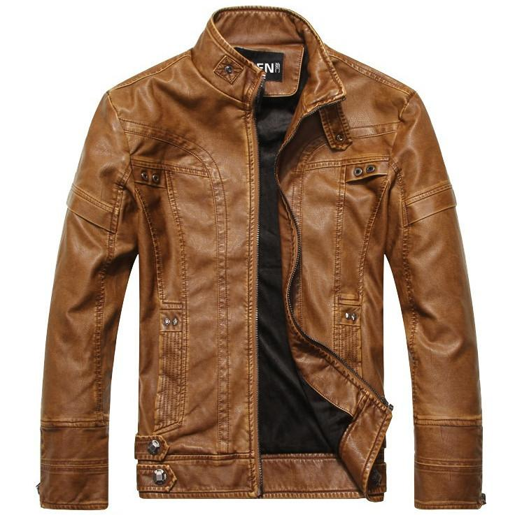 leather jacket aeronautical jacket light brown ... tsmfivm
