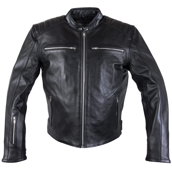 leather motorcycle jackets xelement xs-630 u0027recoilu0027 menu0027s black leather motorcycle jacket ·  qjowvwj