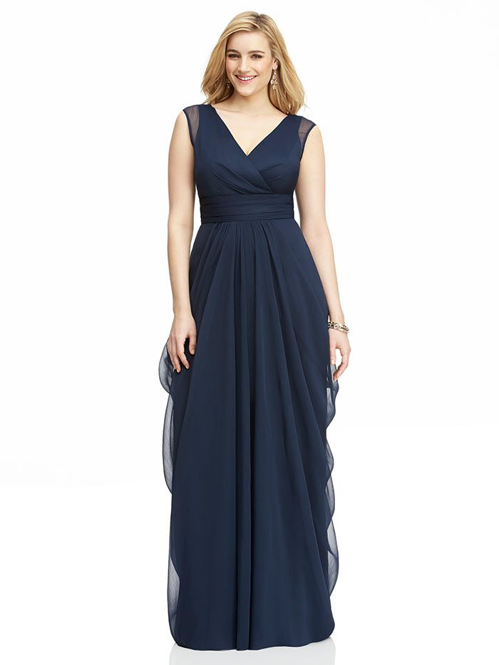 All about perfect plus size bridesmaid wedding dresses