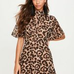 Going mad over choosing the leopard print dress