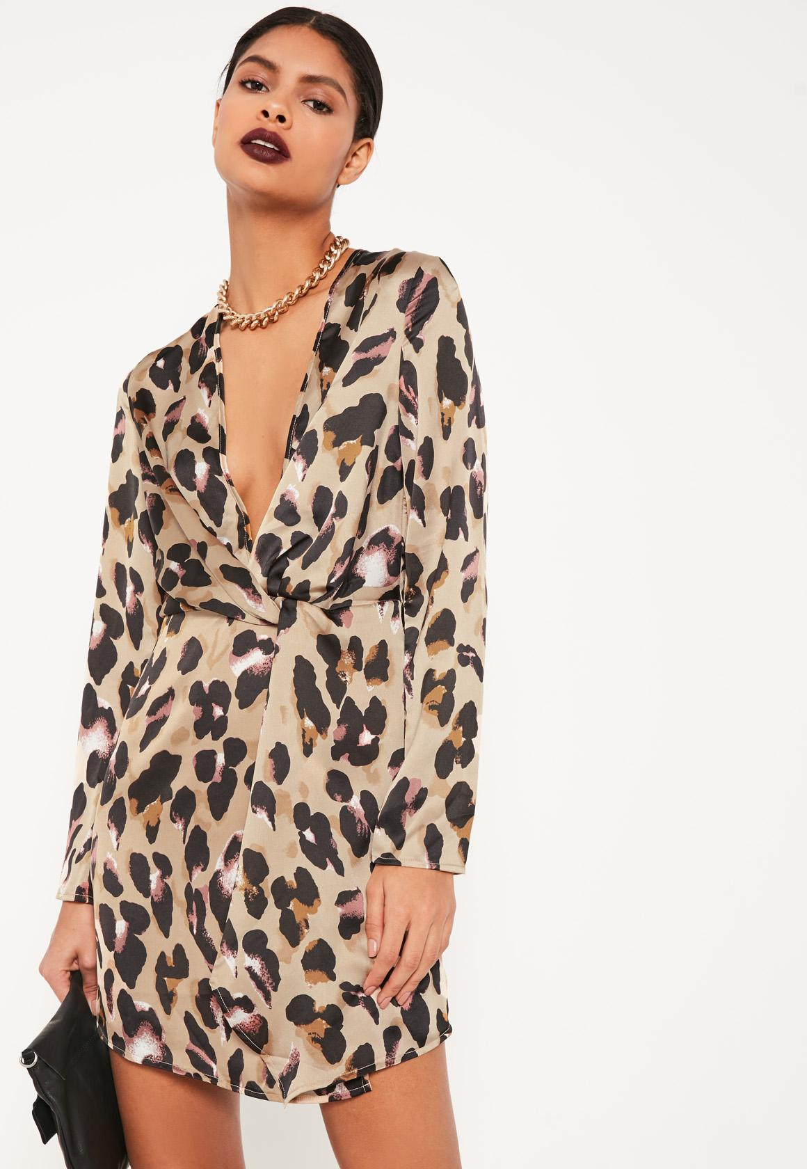 leopard print dress nude leopard wrap front shift dress ruhzbam
