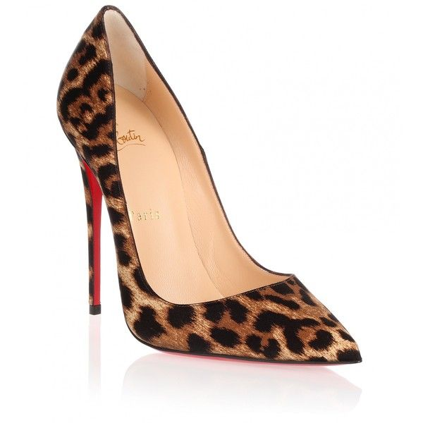 leopard pumps christian louboutin so kate 120 satin leopard pump (905 cad) ❤ liked on vbrxnml