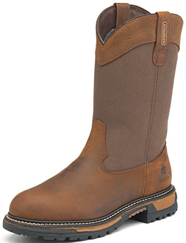 menu0027s 9 rocky ride insulated waterproof pull-on wellington boots-2867  ... thnxmzw