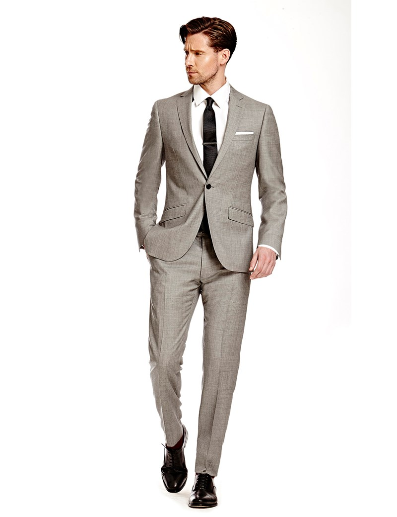 menu0027s grey twill extra slim fit suit - super 120s wool izspywf