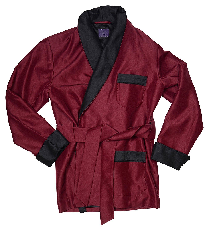 menu0027s smoking jacket perry burgundy at amazon menu0027s clothing store: smlxrsj