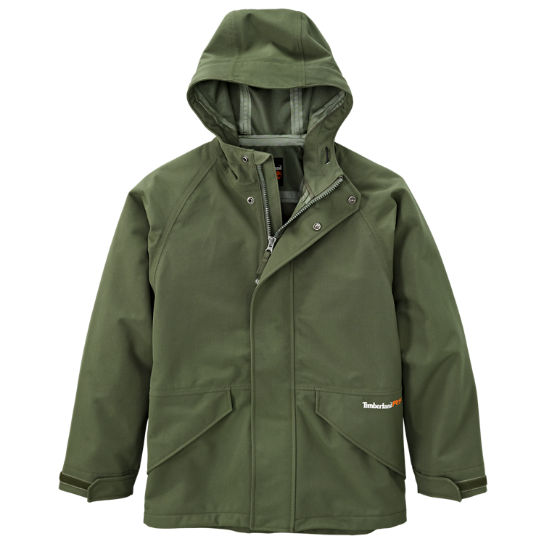 menu0027s timberland pro® dry squall hooded waterproof jacket fncjyjn