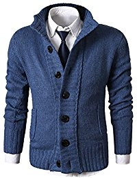 mens cardigan sweaters mens casual stand collar cable knitted button down cardigan sweater glkuidc