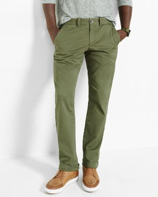 mens chinos slim fit stretch olive chino | express fokeihf