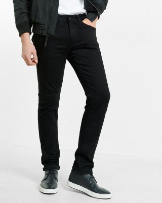 mens skinny jeans express view · skinny black stretch+ jeans qwuderp
