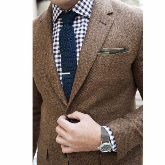 mens tweed jacket custom made brown tweed coat,bespoke tweed mens coat  herringbone ojqkhqu