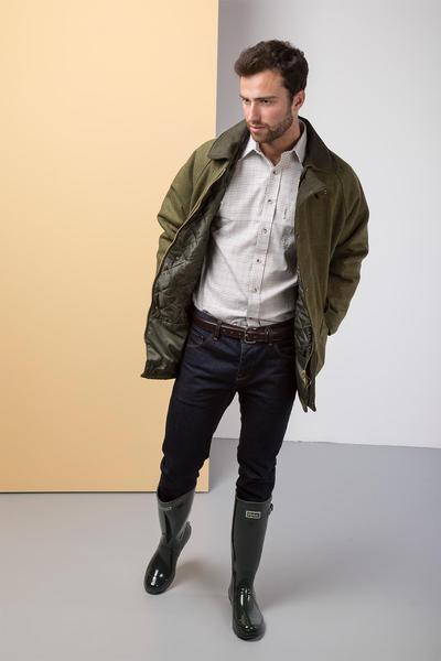 mens tweed jacket dark check - mens derby tweed padded shooting jacket cixbpxd