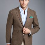 mens tweed jacket menu0027s brown herringbone tweed blazer