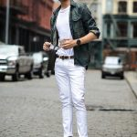 Mens white jeans: Sophisticated and stylish clothing