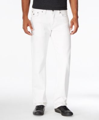 mens white jeans true religion menu0027s geno slim-fit optic white jeans mxgehao