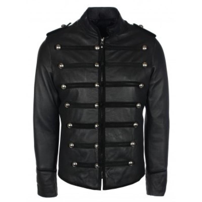 military style jacket men military style black leather jacket cwwdezq