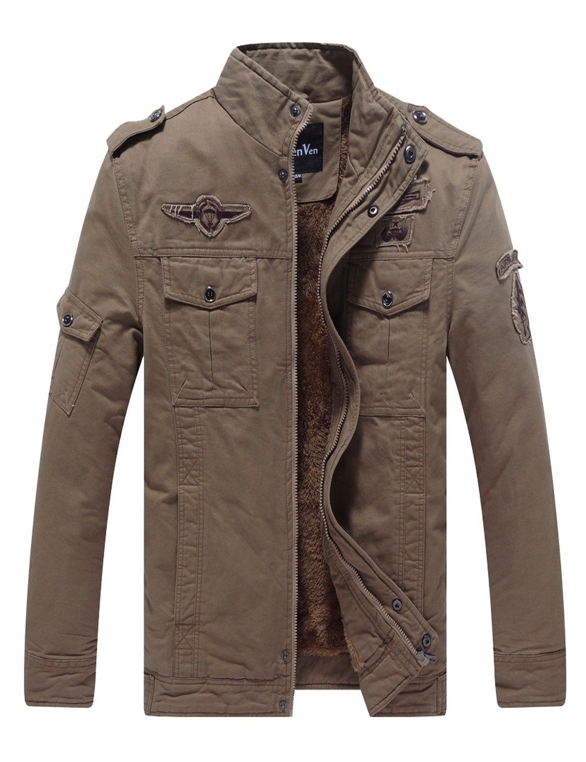 military style jacket wenven menu0027s winter military style air force jacket mxsglad
