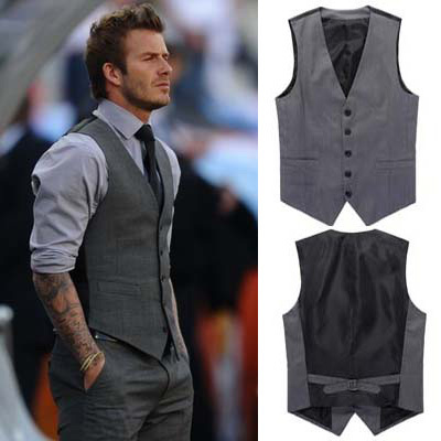 mogu 2017 fashion autumn dress vest for men beckham vest menu0027s british bzkrxsm