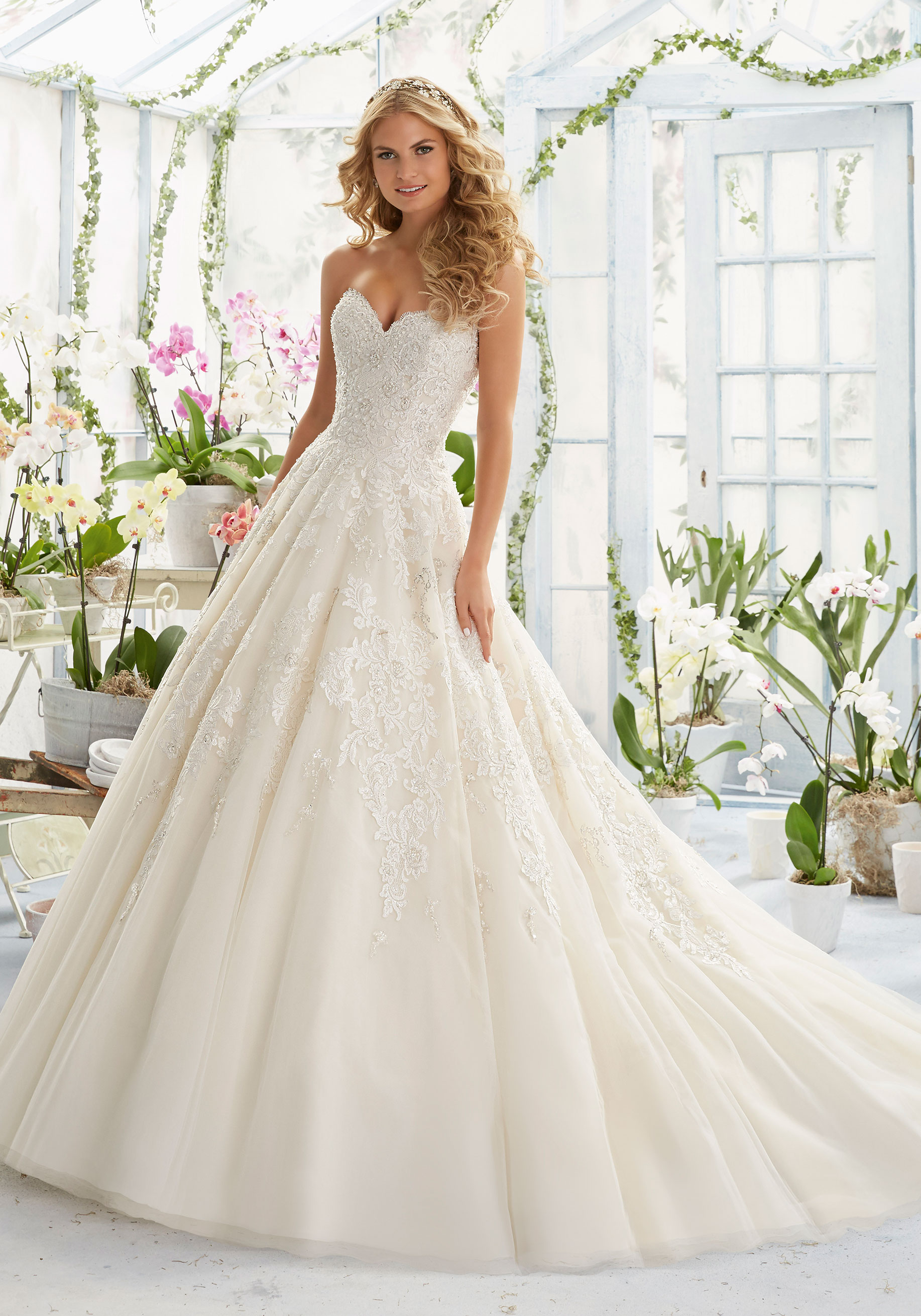 mori lee wedding dresses pearl and crystal beading on elegant embroidery decorating classic tulle morilee  bridal lrbrean
