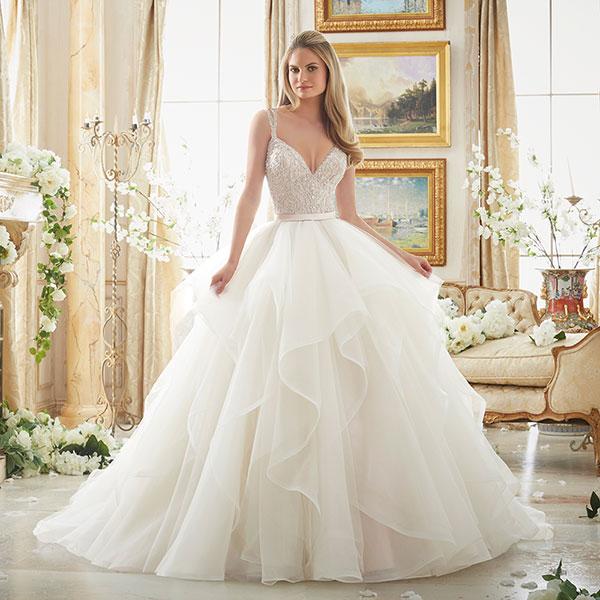 How to buy Mori Lee wedding dresses