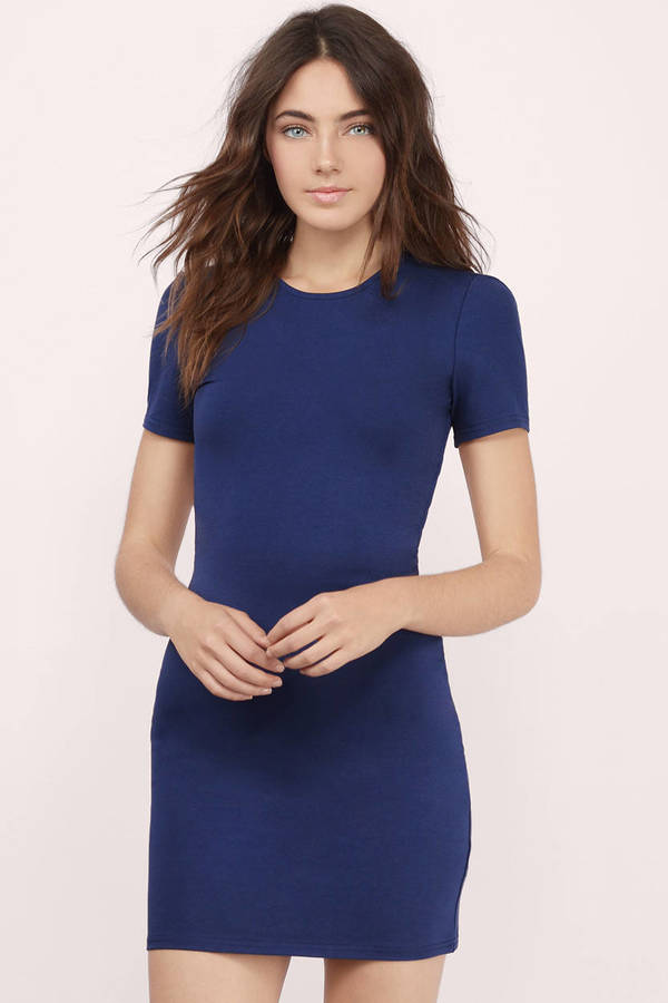 navy blue dress flaunt it navy bodycon dress flaunt it navy bodycon dress ... yxowtdz