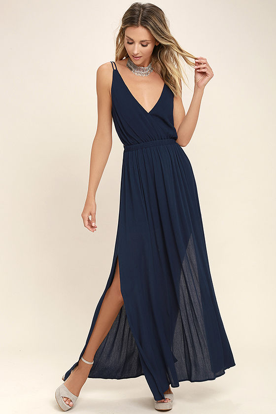 navy blue dress lost in paradise navy blue maxi dress 1 ajpstln