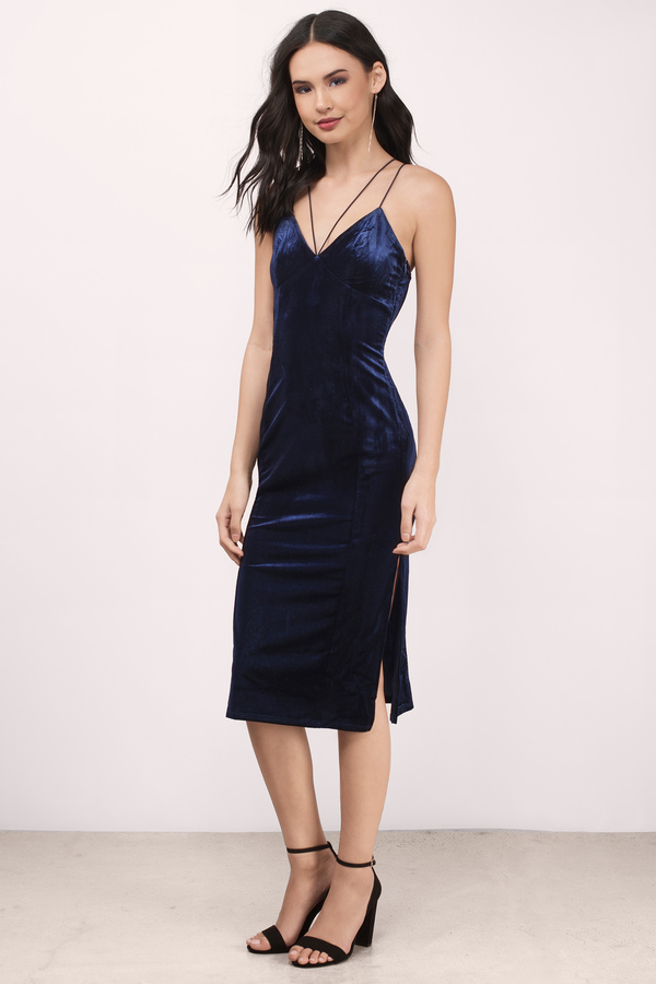 navy blue dress navy blue dresses, navy, only one velvet midi bodycon dress, ... eyjolws
