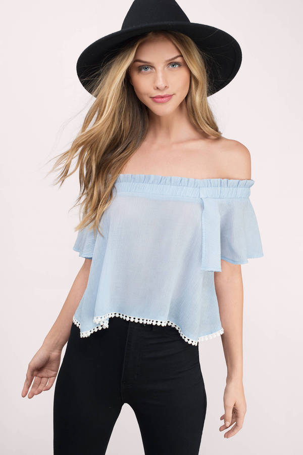 Off shoulder Tops – back with real looks