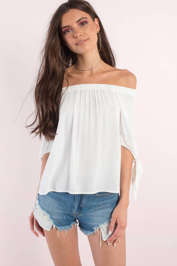 off shoulder tops zoya black blouse ... hqlvbos