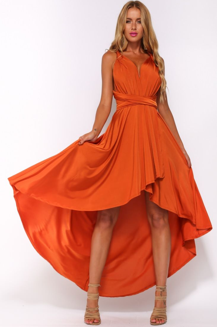 orange dresses hellomolly | after light maxi dress burnt orange bweyabt