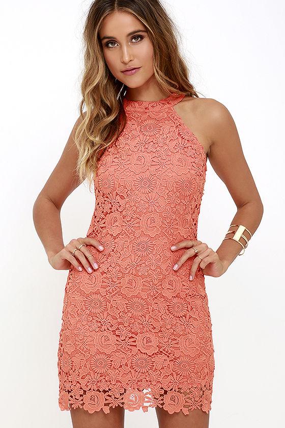 orange dresses love poem coral orange lace dress 1 sawgodp