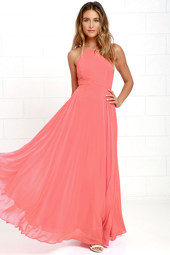 orange dresses mythical kind of love coral pink maxi dress 1 vitxczi