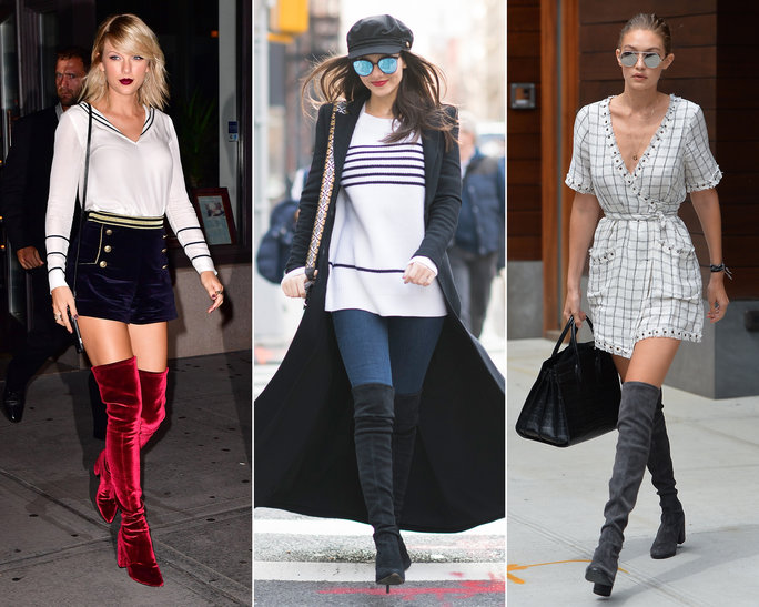 over knee boots where to buy the over-the-knee boots that gigi hadid, taylor swift, and jceascc