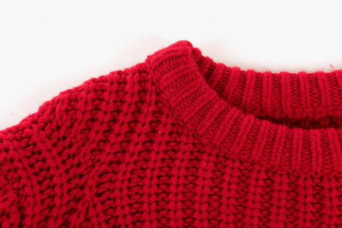 oversized red sweater qvrtlga
