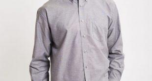 oxford shirt the idle man grey shirt oxford mens uzfdjvv