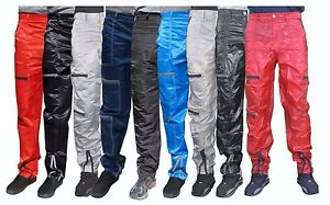 parachute pants image is loading panno-d-039-or-shiny-nylon-parachute-pants- fmcpzcs