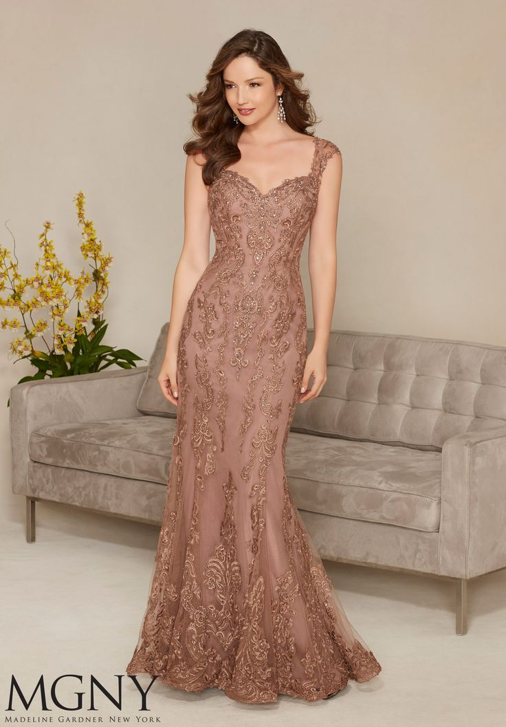 party gowns evening gowns and mother of the bride dresses by mgny net with beaded lwnhfre
