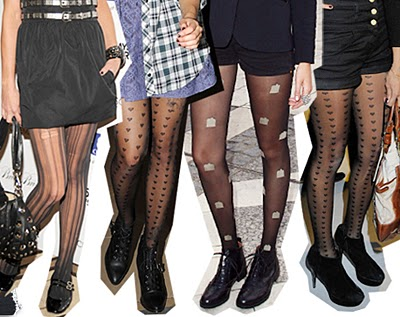 patterned tights iu0027ve ... nxguolf