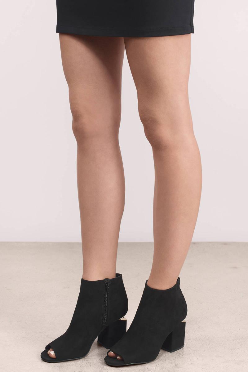 peep toe heels ... bethany peep toe heel · bethany black booties fnwksil