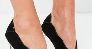 peep toe heels black clear heel peep toe pumps gwiwxlu