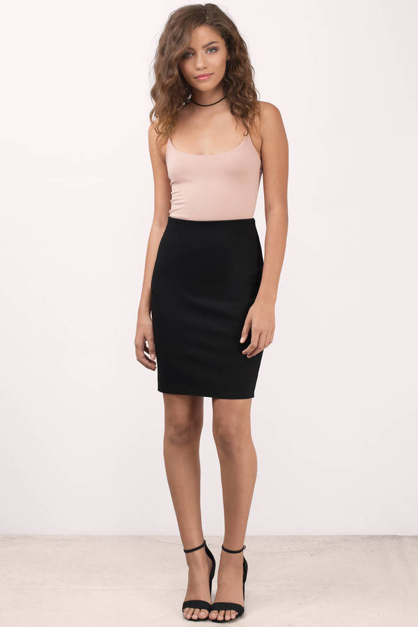 Make a style statement with pencil skirts