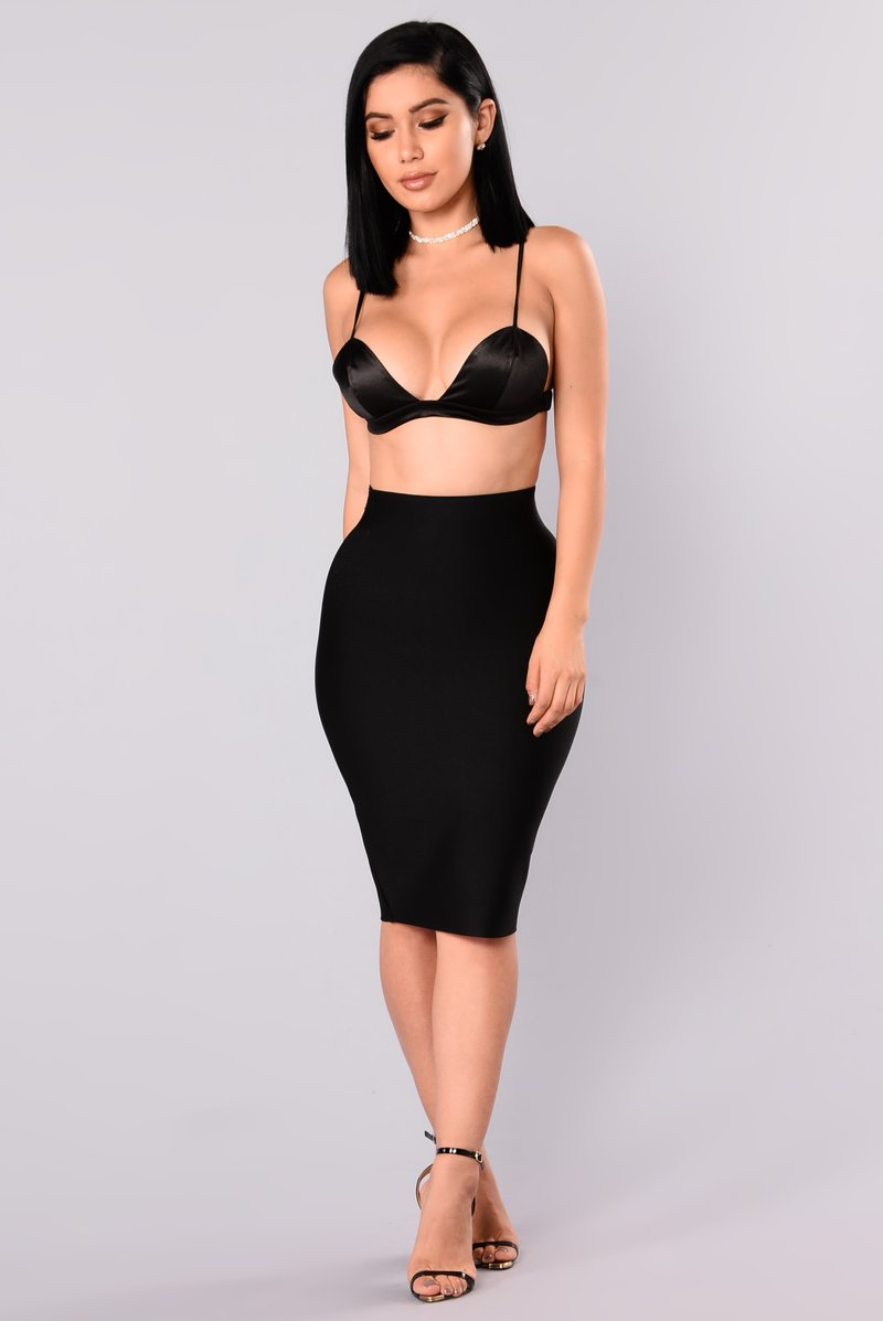 pencil skirts only necessary bandage skirt - black sadwusr