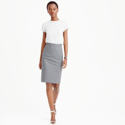 pencil skirts pencil skirt in italian stretch wool : womenu0027s suit skirts fajxjod