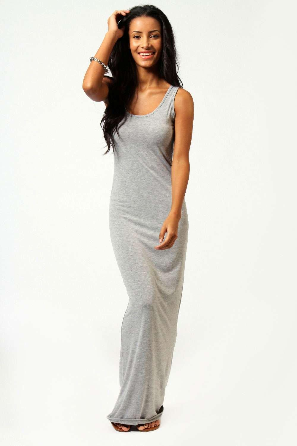 petite maxi dresses petite sandy scoop neck maxi dress | boohoo edozxbk