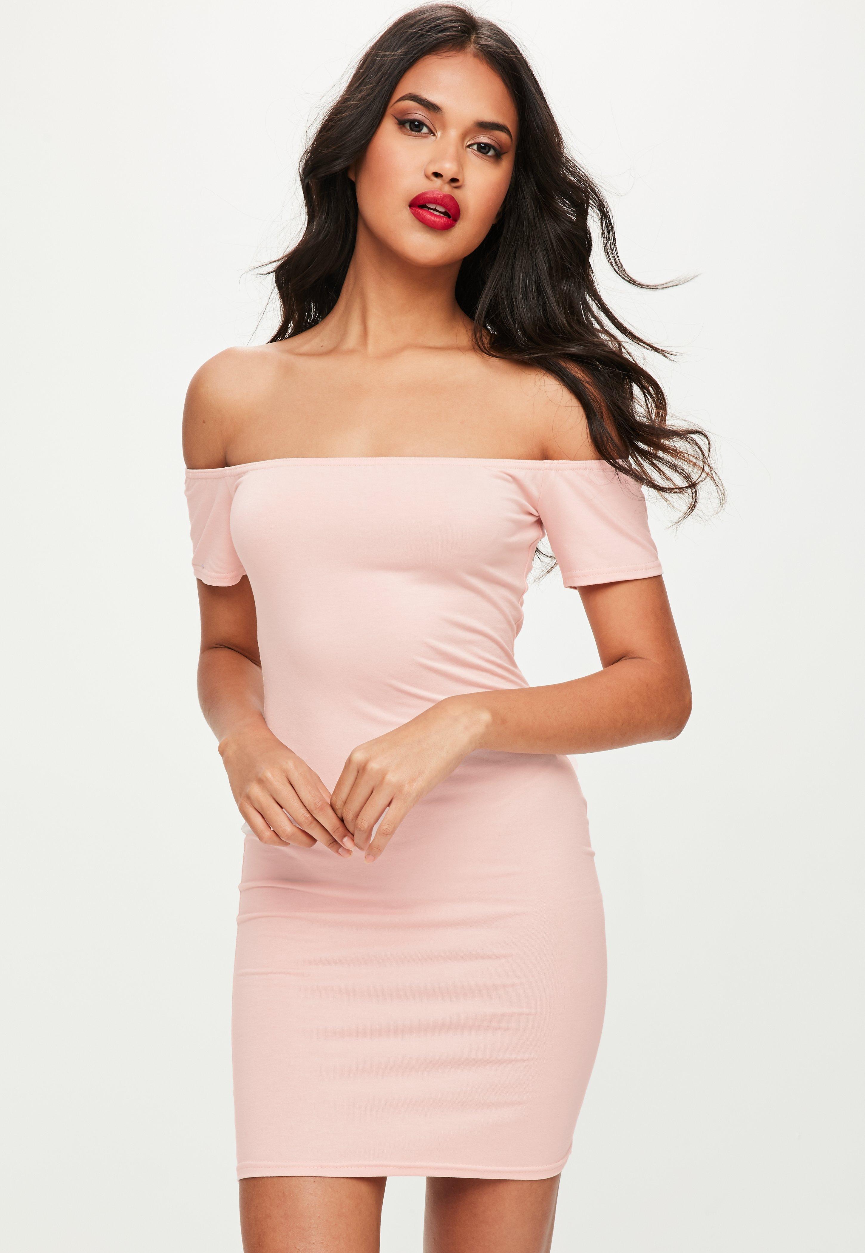 pink dress pink dresses - coral, hot u0026 light pink dresses   missguided mohxpsy