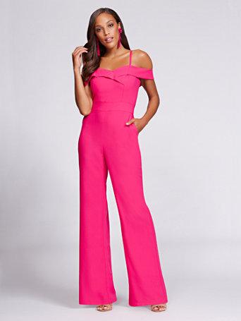 pink jumpsuit 877 thovyda